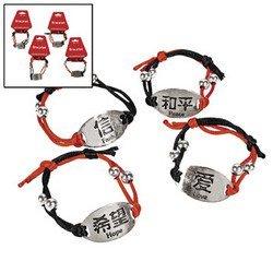 Chinese Symbol Bracelet (1 Dozen) - Bulk