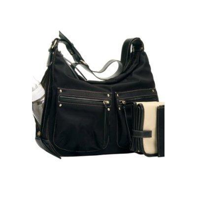 Emily Diaper Bag (Black)