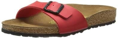 Birkenstock Madrid 40741, Chaussures mixte adulte - Cerise, 35 (normal) EU