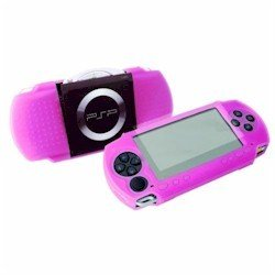 Exspect Pink Silicone Skin with Screen Protector (PSP)