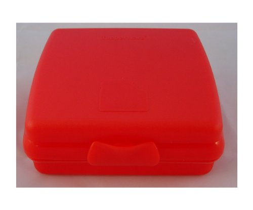 Tupperware Mini-Twin Brotdose Twin Brotbox rot Brotbox