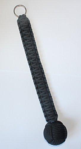 SENC-12-Cobra-550-Paracord-1-12-Keychain-Black