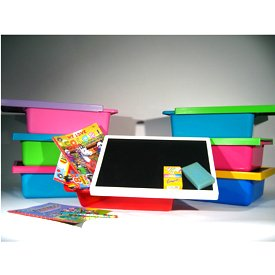 Busy Box Fun Pack with Chalk Board Top