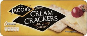 Jacobs Cream Crackers 200g (Pack of 4) by Spicy World
