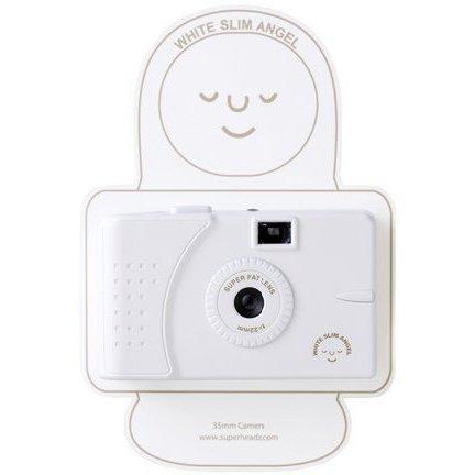 SuperHeadz: White Slim Angel (Wide Angle Lens) Camera