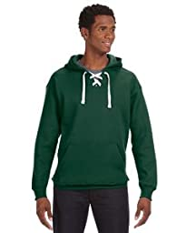 J America Sport Lace Hood - FOREST GREEN - 2XL