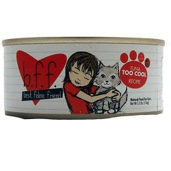 Best Feline Friend Canned Cat Food, Tuna Too Cool Recipe (Pack of 8, 5.5 Ounce Cans)
