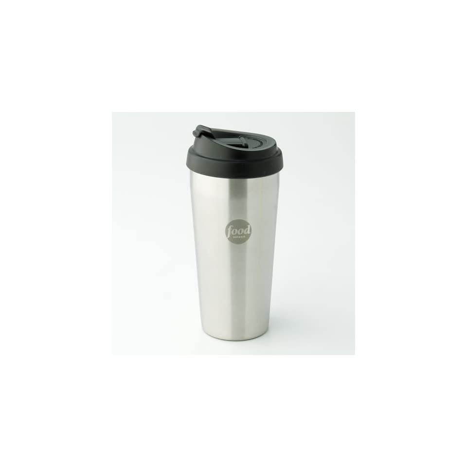 Food Network Stainless Steel Double Wall Mug  Kitchen