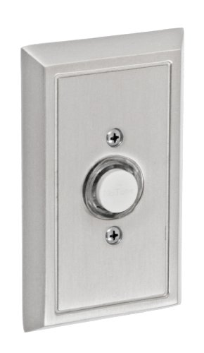 Fusion Hardware BEL-S8-BRN Decorative Collection Shaker Doorbell, Brushed Nickel, 1-Pack
