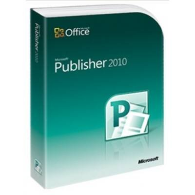 Microsoft Publisher 2010 - Complete Product - 1 PC - Desktop Publishing - Academic - DVD-ROM - PC