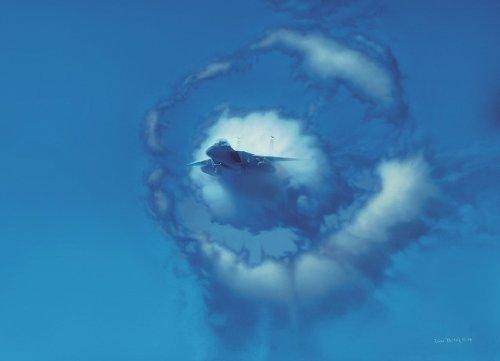 """Eye Of The Eagle"" - Dru Blair - F-15 Eagle Aviation Art (Giclee)"