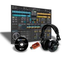 DJ Tech DIGIMIX2020MKII MP3 Mixing Pack DJ Headphones DJH-200 Bundle