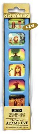 Hotline To God Adam and Eve Story Stix - Educational Religious Story Bible STIX-ADAEVE