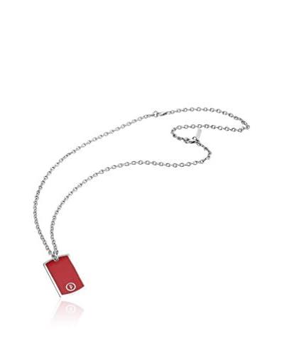 Lindberg&Sons Conjunto de cadena y colgante  Plateado / Rojo