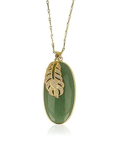 Otazu Collar  Dorado / Verde