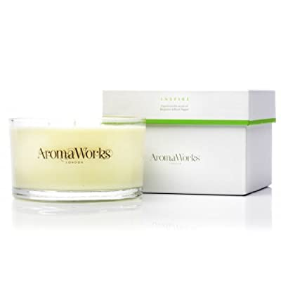 AromaWorks 3 Wick Candle Inspire from AromaWorks Ltd, uk beauty, AROP4
