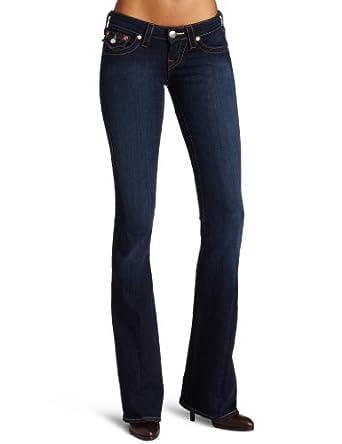 True Religion Women's Joey Low Rise Flare Jean, Lonestar, 29