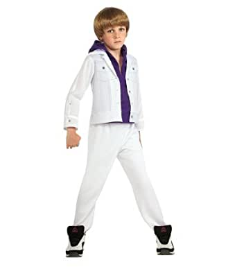 Amazon.com: Justin Bieber White Purple Hoodie Halloween ... - photo #21