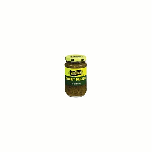 Mt. Olive Sweet Relish, 8-Ounce Containers (Pack of 12) (Pickle Relish Sugar Free compare prices)