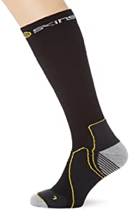 SKINS Essentials Active Mid-Weight Compression Socks, Black, X-Small