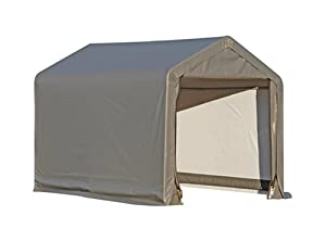 ShelterLogic 6x6x6.5 E Series Shed (Gray)