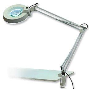 Laron-S3201-Neonring-Magnifier-Lupenlampe-mit-Klemmfu-Kosmetikleuchte-22W-8-Dioptrien-fr-Nagelstudio-Kosmetikstudio
