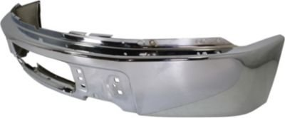 Evan-Fischer EVA17372038279 Bumper Front Steel Chrome (2012 Ford F150 Front Bumper Parts compare prices)
