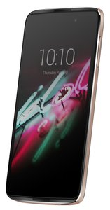 Alcatel Onetouch Idol 3 Smartphone (13,9 cm (5,5 Zoll), 13 Megapixel, IPS, Android 5.0 Lollipop) soft gold