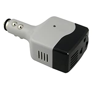 eForCity DOTHDCACAD01 Universal DC to AC Outlet Converter Adapter [US Plug] (Discontinued by Manufacturer)