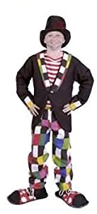 Funny Child Patchwork Hobo Clown Costume