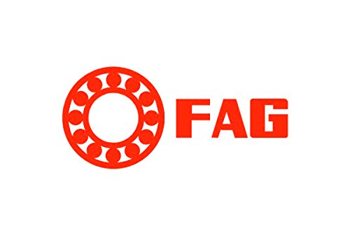 FAG 2206-2RS-TV Self-Aligning Bearing, Double Row, Double Sealed, Polyamide/Nylon Cage, Normal Clearance, Metric, 30mm ID, 62mm OD, 20mm Width, 8000rpm Maximum Rotaional Speed, 1060lbf Static Load Capacity, 3550lbf Dynamic Load Capacity