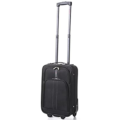 5 Cities Lightweight Upright Soft Luggage Suitcase Set from 5 Cities