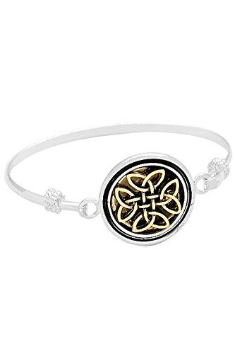 rosemarie-colecciones-mujeres-pulsera-de-nudo-celta-plata-oro