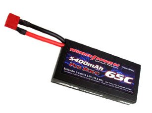 5400mAh 1S 3.7V G6 Pro Race 65C with Case, Deans