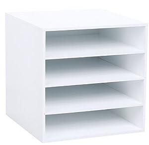 Amazon Com Jetmax Simply Built Craft Storage 4 Shelf