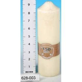 Candles - Church Pillar (150 hrs) Candle for the Home and Garden from Salco