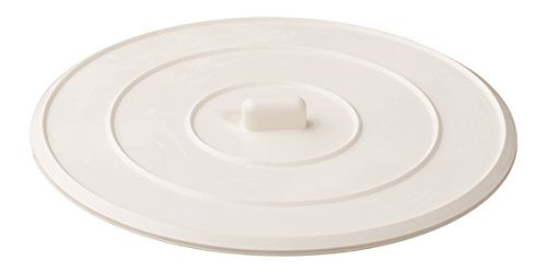Rubber Sink Stopper, Shower, Bathtub, Stall, Self-Sealing, Universal, For Kitchens, Bathrooms And Laundries, Flat Suction Drain Plug - White. (Packing Nut Washer compare prices)