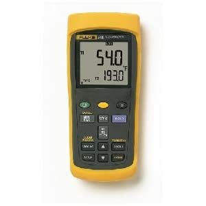 Fluke 52-2 Thermocouple Thermometer: Science Lab
