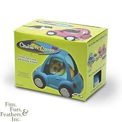 Super Pet Cruise-N-Coupe SUV Car Toy & Hideaway Nest for Hamsters, Gerbils & Mice