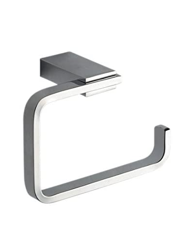Nameek's Kansas Toilet Roll Holder, Chrome