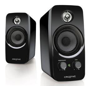 Creative Labs 2.0 Desktop Speakers