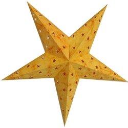 Amazon.com - Paper Star Lantern, 24 Inches, Orange Batik - Paper