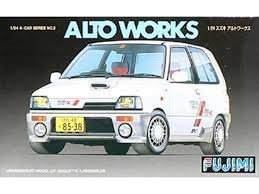 1/24 K カーシリーズ Kカー2 スズキ アルトワークス RS?X'87