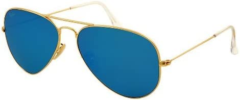 Ray-Ban Aviator Sunglasses (Matte Gold) (RB3025|112/1755)