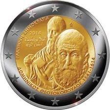 2-euro-coin-from-greece-2014-el-greco-sammlermunze-bank-unc