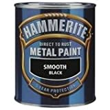 Hammerite 2.5 Litre Smooth Finish Black