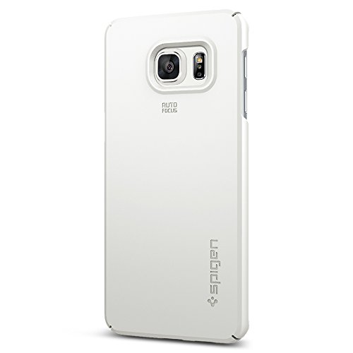 Spigen-Thin-Fit-Galaxy-S6-Edge-Plus-Case-with-Premium-Matte-Finish-Coating-for-Galaxy-S6-Edge-Plus-2015-Shimmery-White