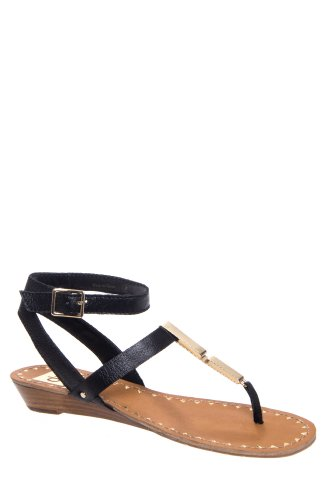 DV by Dolce Vita Vasni Low Wedge Thong Sandal