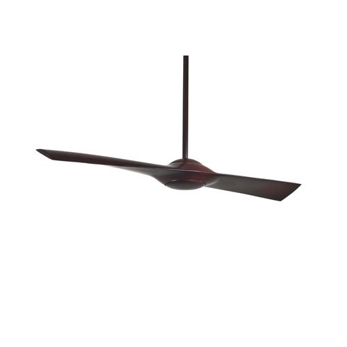 Minka Aire F823-MG Wing 52 in. Indoor Ceiling Fan - Mahogany Finish