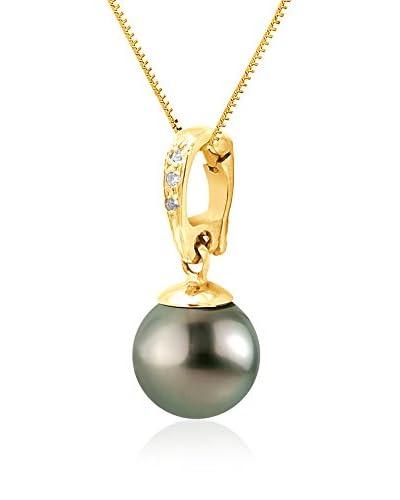 Pearl Addict Collar Dorado